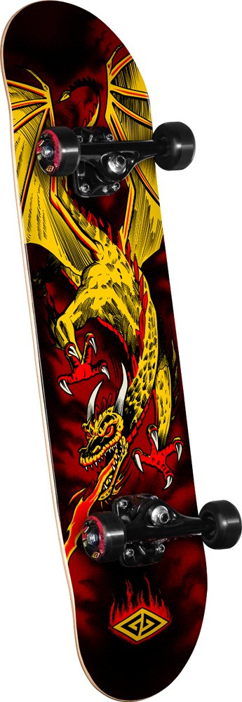 Powell Golden Dragon Flying Dragon 2 Complete Skateboard