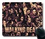 The Walking Dead Cool Poster Mouse Pad, Customized Rectangle Mousepad Diy By Bestsellcase