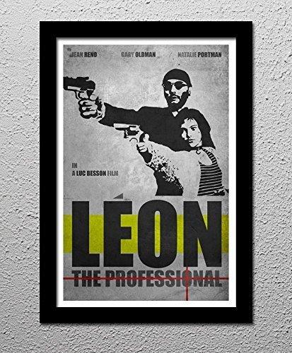 Leon The Professional - Jean Reno - Natalie Portman - Original Minimalist Art Poster Print