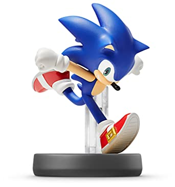 amazon com sonic amiibo japan import super smash bros series