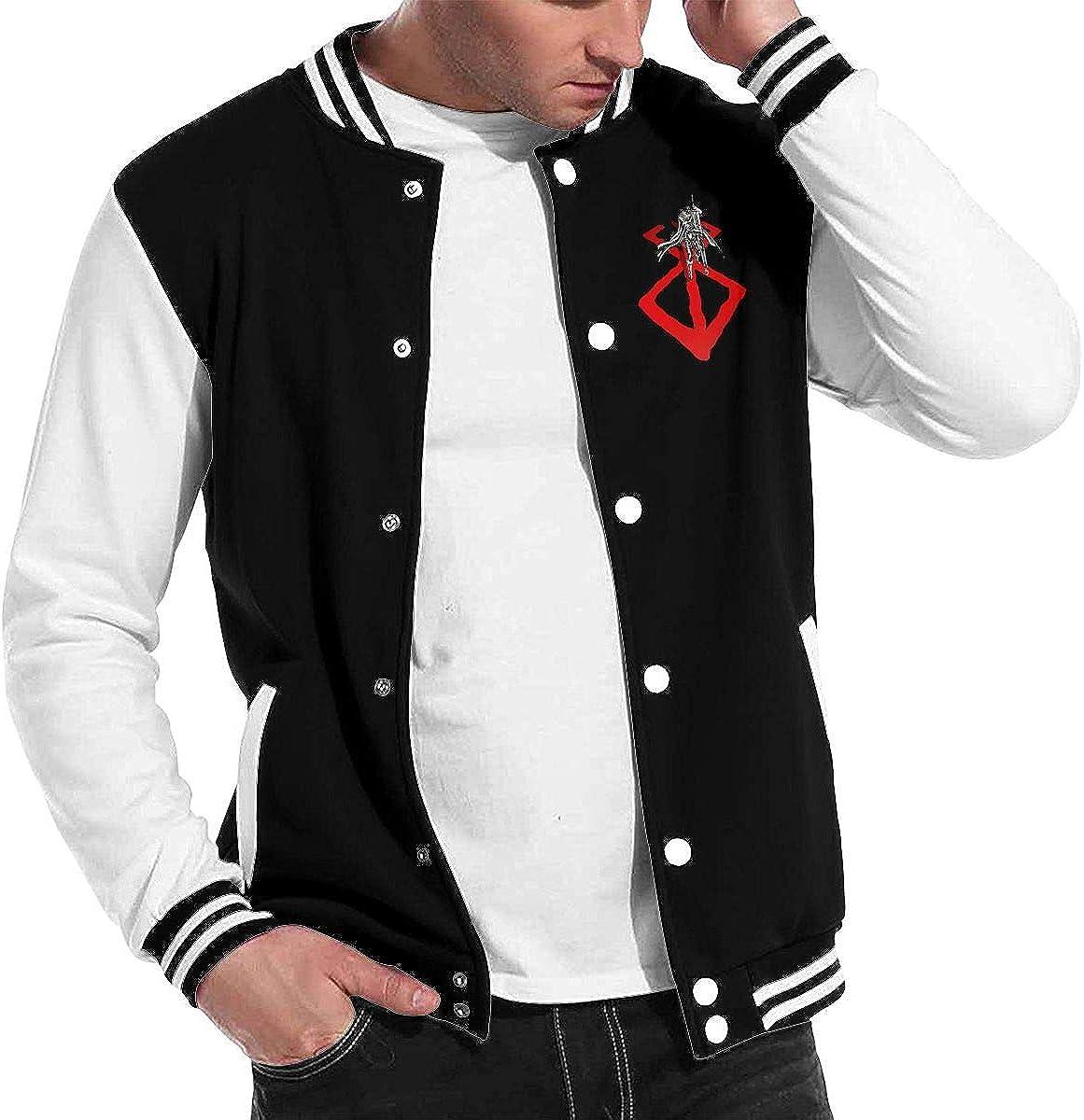 Gjfauehf Baseball Jacket Berserk Uniform Unisex Sweater Coat
