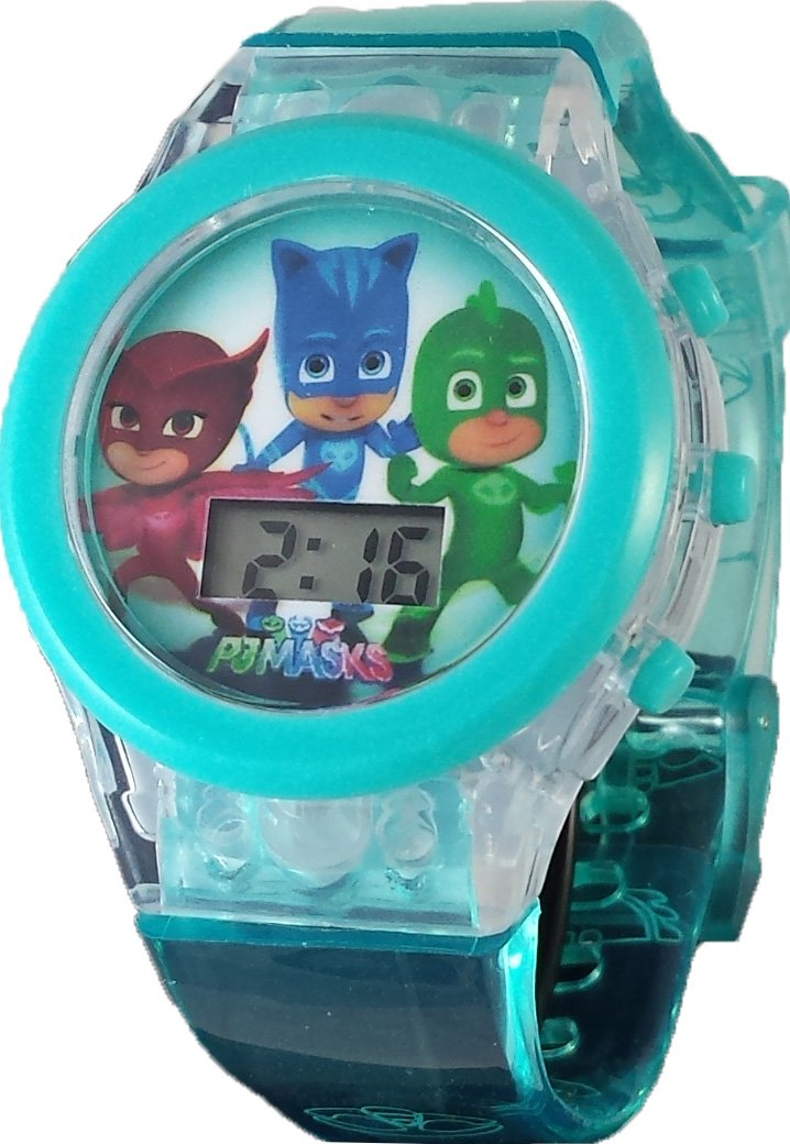 PJ Masks Kid's Blue Light Up Digital Watch PJM4051
