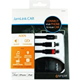 iSimple RCA-Lightning接続(2.4A充電可)ケーブル Jam LINK CAR(IS7505)