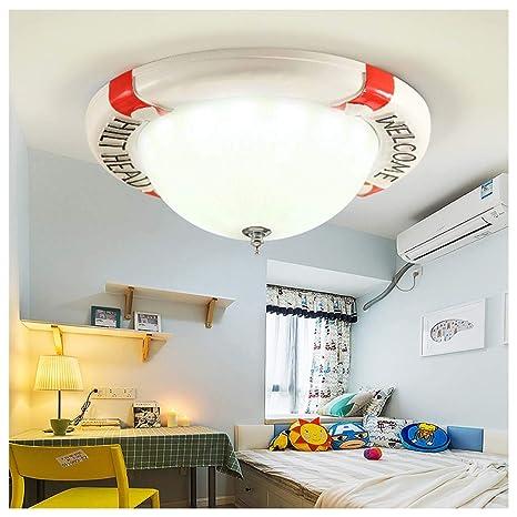 YYF Océano lámpara de techo personalidad creativa habitación ...