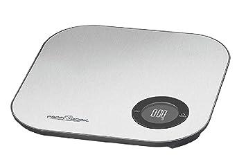 Báscula de cocina digital con tara, hasta 5 kg, de acero inoxidable (Bluetooth App, calorías, funciona con pilas, hasta 5 kg): Amazon.es: Hogar