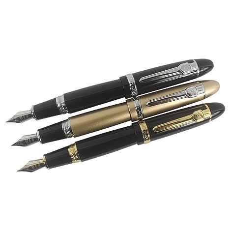 Zoohot Jinhao 159 Penne Stilografiche grande penna pesante 3 pezzi in 3  colori 4c3b7401adf7