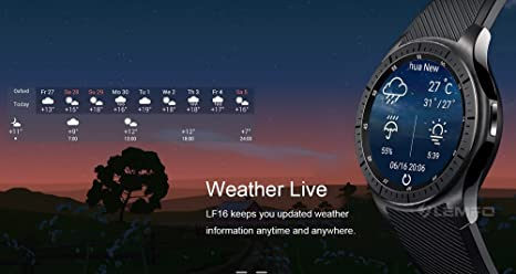 Amazon.com: PINCHU LF16 Bluetooth Smart Watch Phone WiFi GPS ...