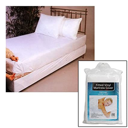 Amazon.com: Full Size Bed Mattress Cover Plastic White Waterproof