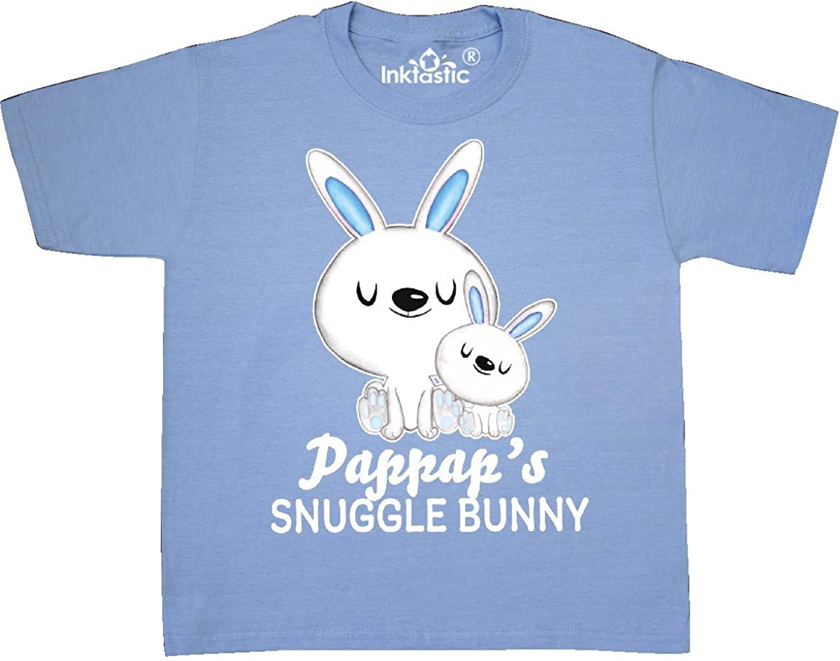 inktastic Pappaps Snuggle Bunny Easter Toddler T-Shirt