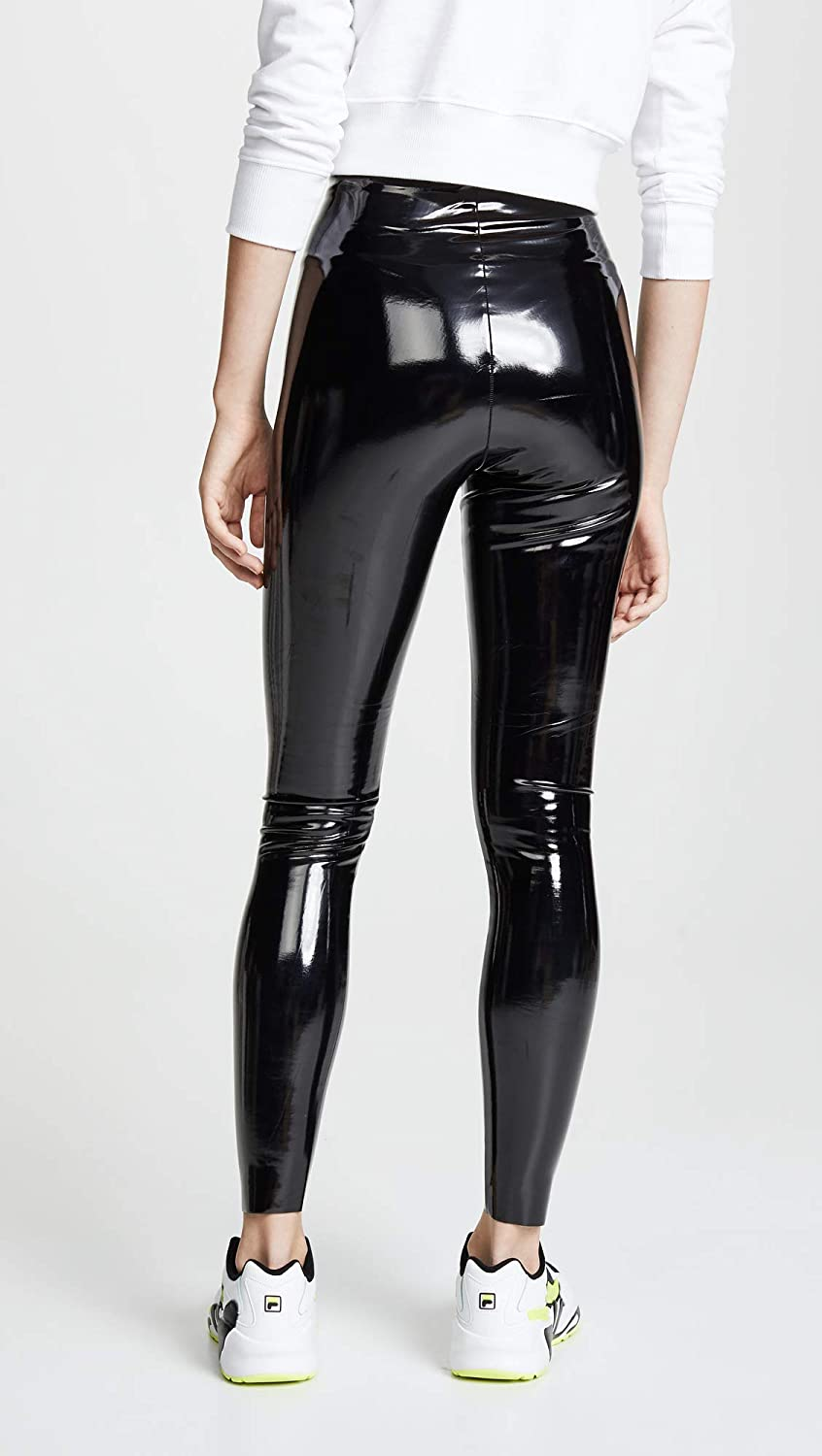 19f16caaeaadb commando Women's Faux Patent Leather Perfect Control Leggings at Amazon  Women's Clothing store: