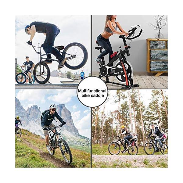 SPGOOD Sella per Bicicletta, Sella per Comodo Impermeabile e Traspirante da Uomo e da Donna, Sedile Bicicletta… 7 spesavip