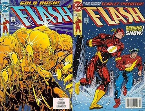 The Flash #72-73 (1987-2009) Limited Series DC Comics - 2 Comics