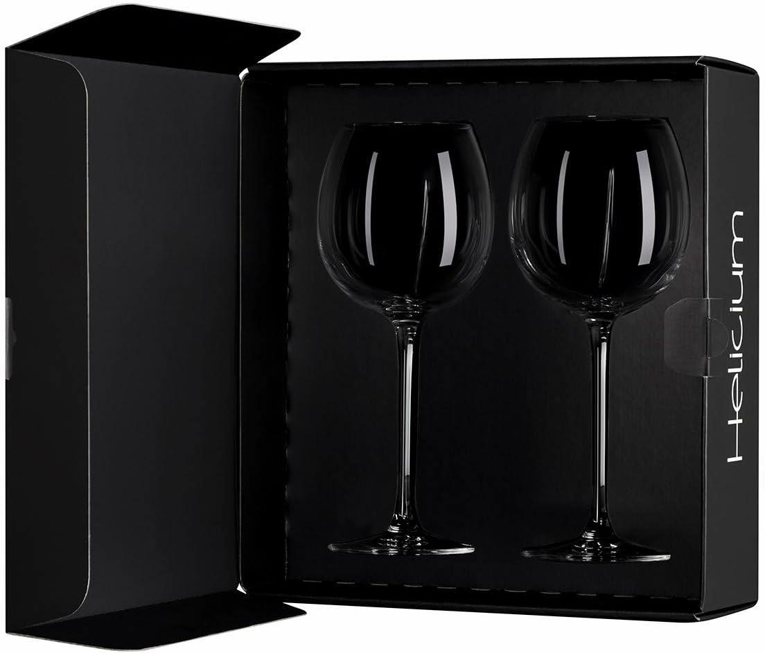 Arnaud Baratte Helicium - Estuche especial para cata de vino, incluye 2 copas: Amazon.es: Hogar