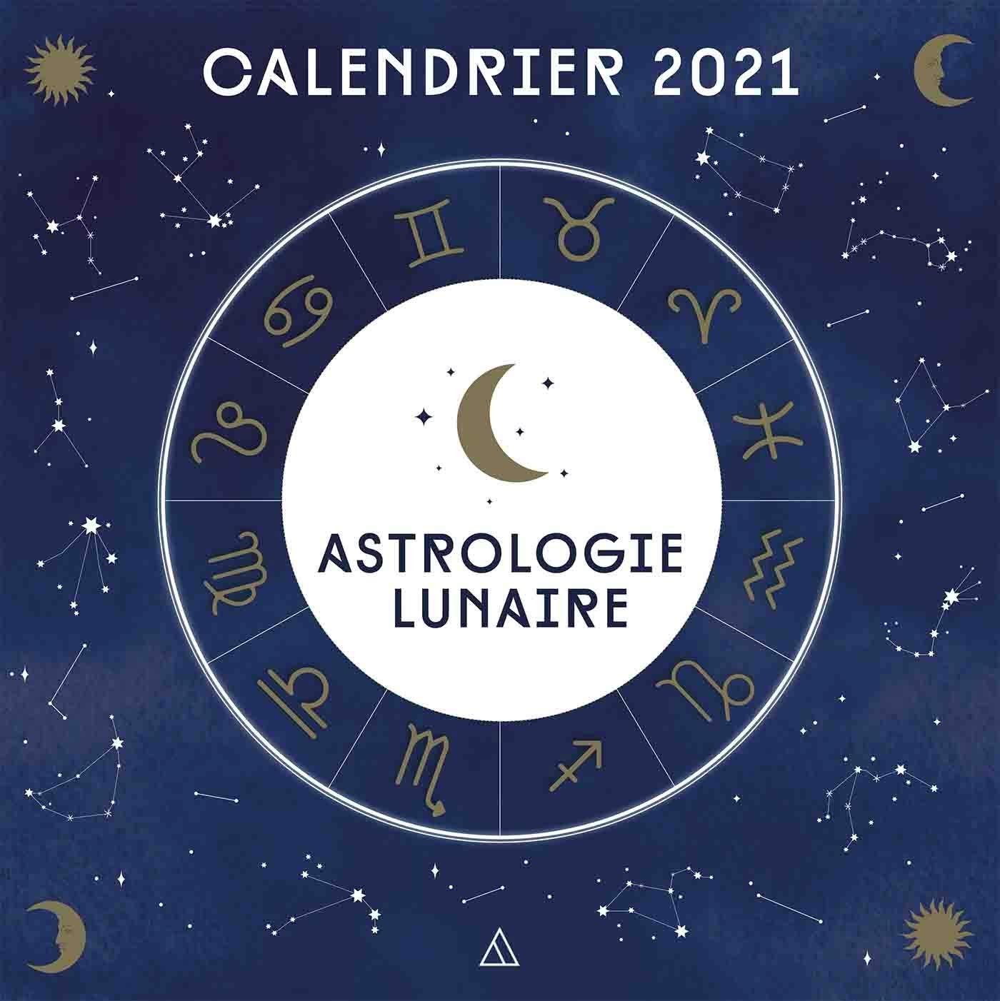 Calendrier mural 2021  Astrologie lunaire: 9782379642050: Amazon