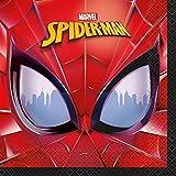 Unique Spiderman Party Napkins, 16Ct