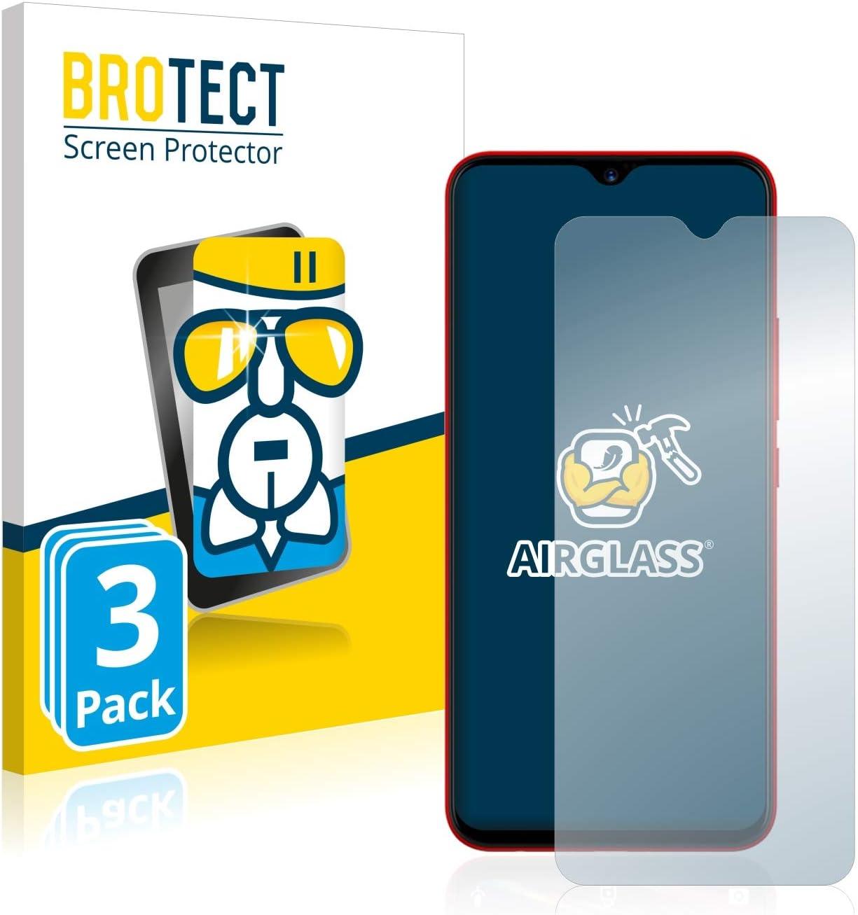 BROTECT Protector Pantalla Cristal Compatible con Umidigi F1 / F1 ...