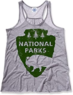 product image for Hank Player U.S.A. National Parks Women's Draped Racer Tank