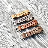 Custom Leather Keychain | Personalized Keychain