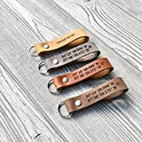 Custom Leather Keychain | Personalized Keychain