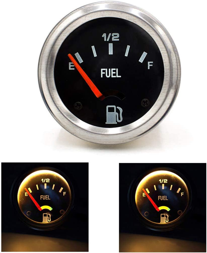 VAILANG 252mm 12V Indicatore Livello Carburante Carburante Auto Indicatore Livello Carburante E-1//2-F indicat