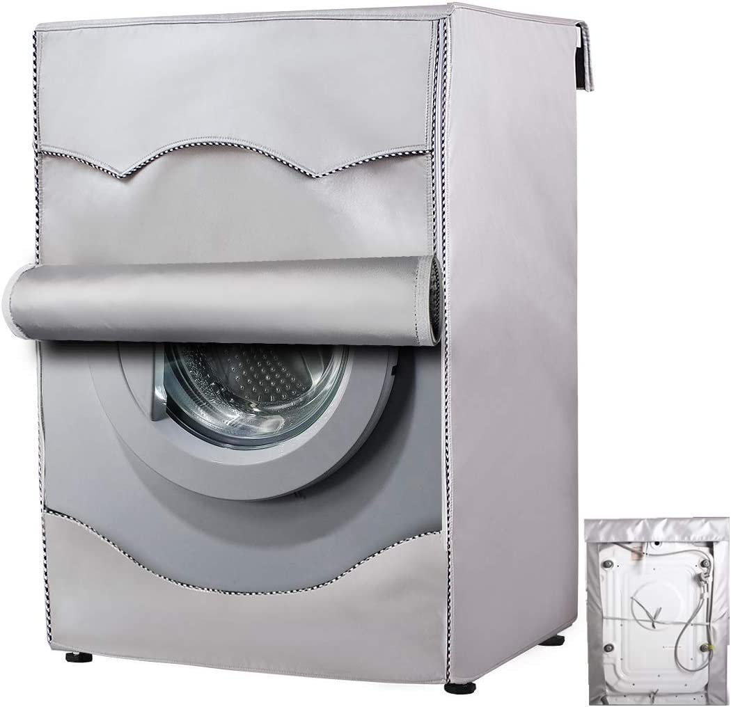 Mr.You Funda Lavadora Carga Frontal,Cubierta Lavadora reciclable para lavadoras de Carga Frontal Impermeable (M-60x53x85cm)