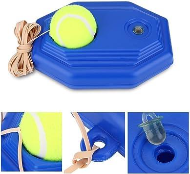 Pelota de tenis Base de entrenamiento con resistente cuerda ...