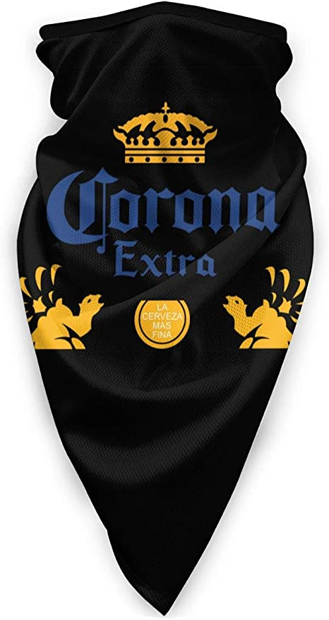 N//A Face Scarf Corona Extra Beer Work Scarf Colorful Outdoor Woman Neck Gaiter Warmer Windproof Face Cover Ski Sports Multifunction Bandanas Men 24X51Cm