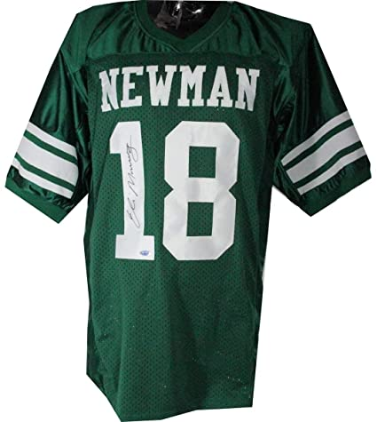 cheap for discount 7074d 0f54b Eli Manning Newman High School Green Autographed Signed ...