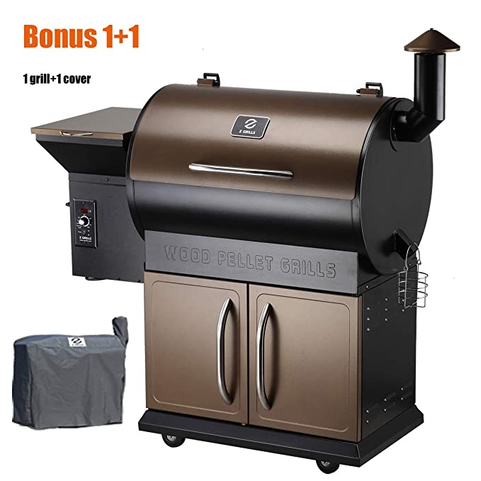 Z Grills Wood Pellet Grill & Smoker – The Multipurpose Smoker Grill Combo