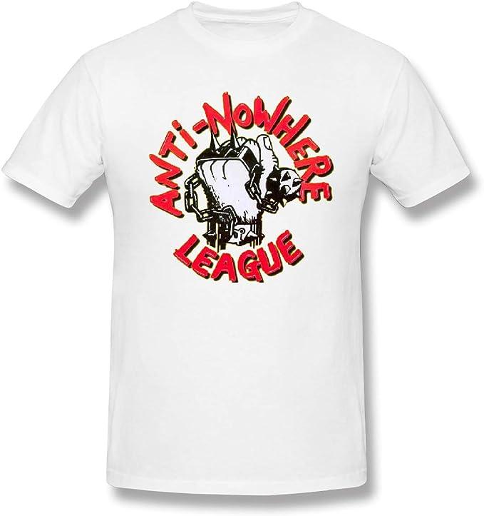 Luron-Fashion - Camisa de algodón para Hombre, diseño de la Liga antiadversidad, Color Blanco - Negro - 6X-Large: Amazon.es: Ropa y accesorios