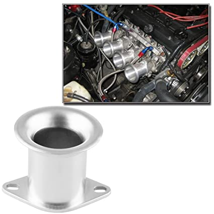 RYANSTAR AE86 Corolla GTS Velocity Stack 20V 4AG ITB/ITBs Air Horn Funnel  Silvertop Silver Color
