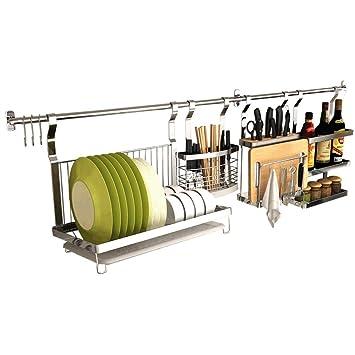 Amazon.de: ZAIYI-Kitchen shelf Küchenregal Edelstahl Racks ...