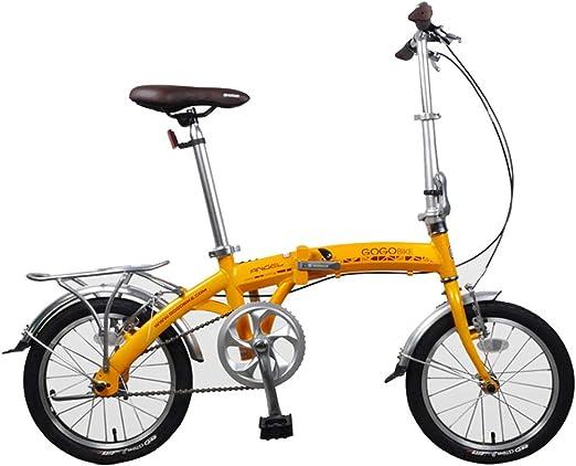 Paseo Bicicleta Bicicleta Plegable portátil Amortiguador Vehículo ...