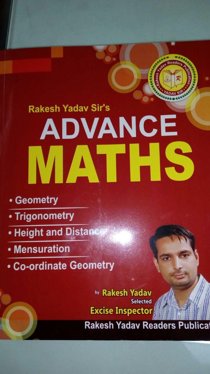 Amazon in: Buy ADVANCE MATHS RAKESH YADAV IN HINDI Book
