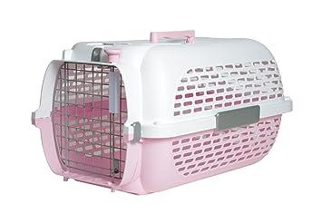 Catit transportín rosa/blanco Tamaño 1 49 x 32 x 30 cm: Amazon.es: Productos para mascotas