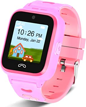Amazon.com: [2020 Updated]4G Kids Smartwatch with GPS Tracker