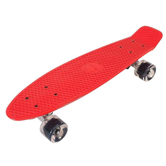 58 opinioni per Awaii IDD22-000R0 Skateboard, Rosso, Taglia Unica