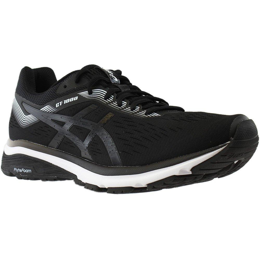 ASICS Men's, GT 1000 7 Running Sneakers 4E Wide Width B079SHNMV4 9.5 M US|Black/White
