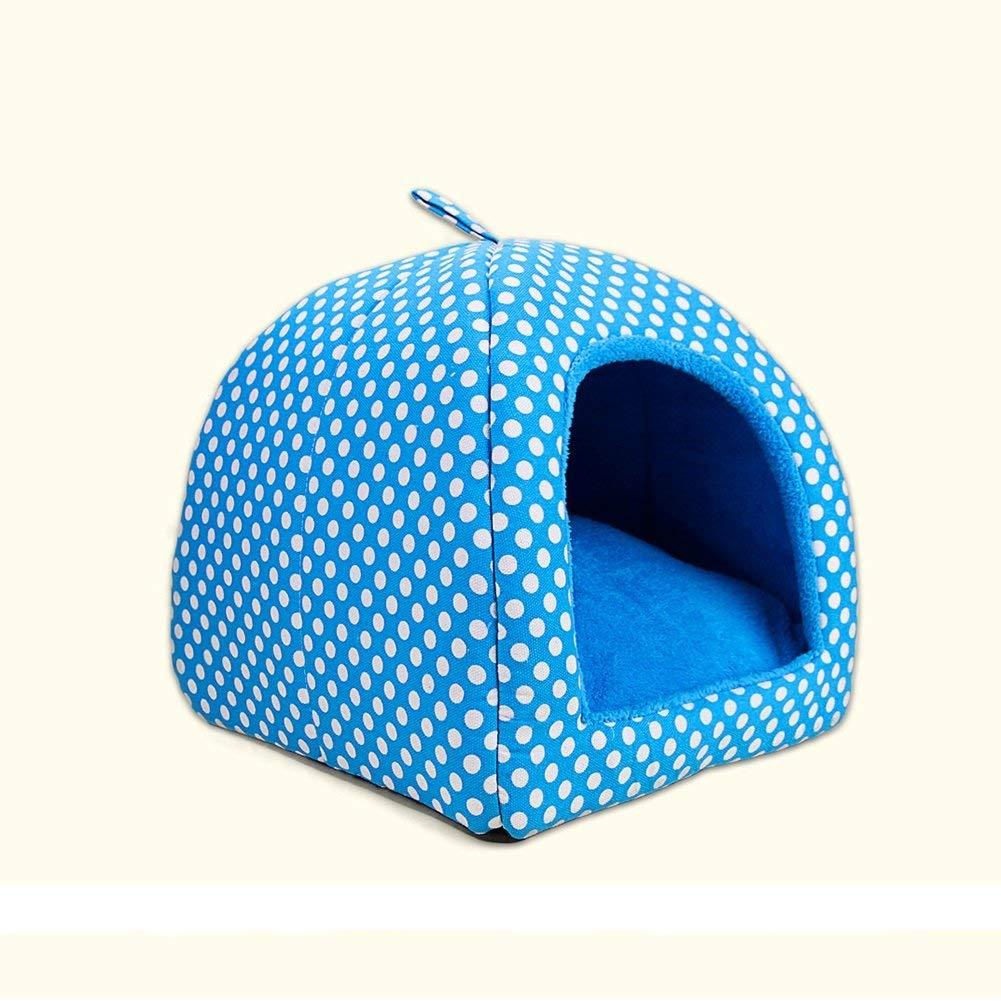 grandi offerte Letto per per per Animali Domestici Materassino Lavabile Teddy Nest Pethouse Cat Nest Nest (colore  Metallico, Misura  S) (colore   Blu, Dimensione   Large)  presa di fabbrica