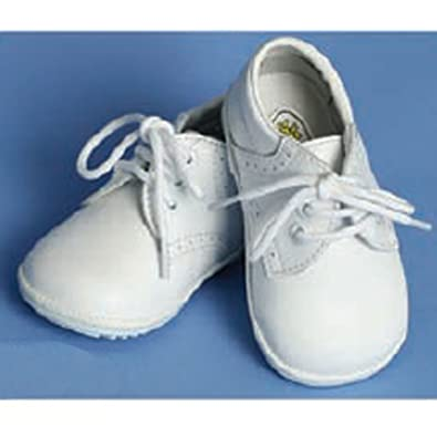 Toddler size 7 white dress shoes