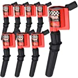 High Performance Ignition Coil 8 Pack For Ford F-150 F-250 F-350 4.6L 5.4L V8 CROWN VICTORIA EXPEDITION MUSTANG LINCOLN MERCU