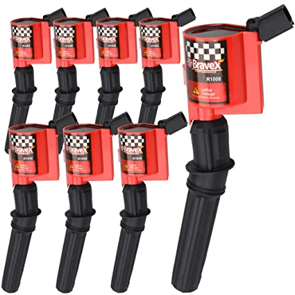 High Performance Ignition Coil 8 Pack For Ford F 150 F 250 F 350 4 6l 5 4l V8 Crown Victoria Expedition Mustang Lincoln Mercury Upgrade Compatible