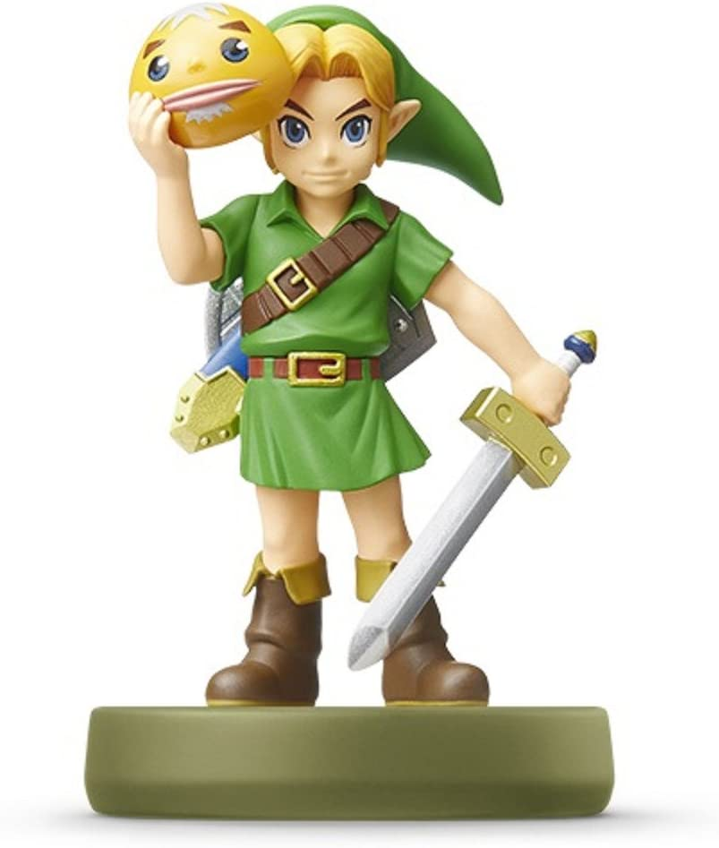 Amiibo Link Majoras Mask (The Legend of Zelda Series) Japan Import: Amazon.es: Juguetes y juegos