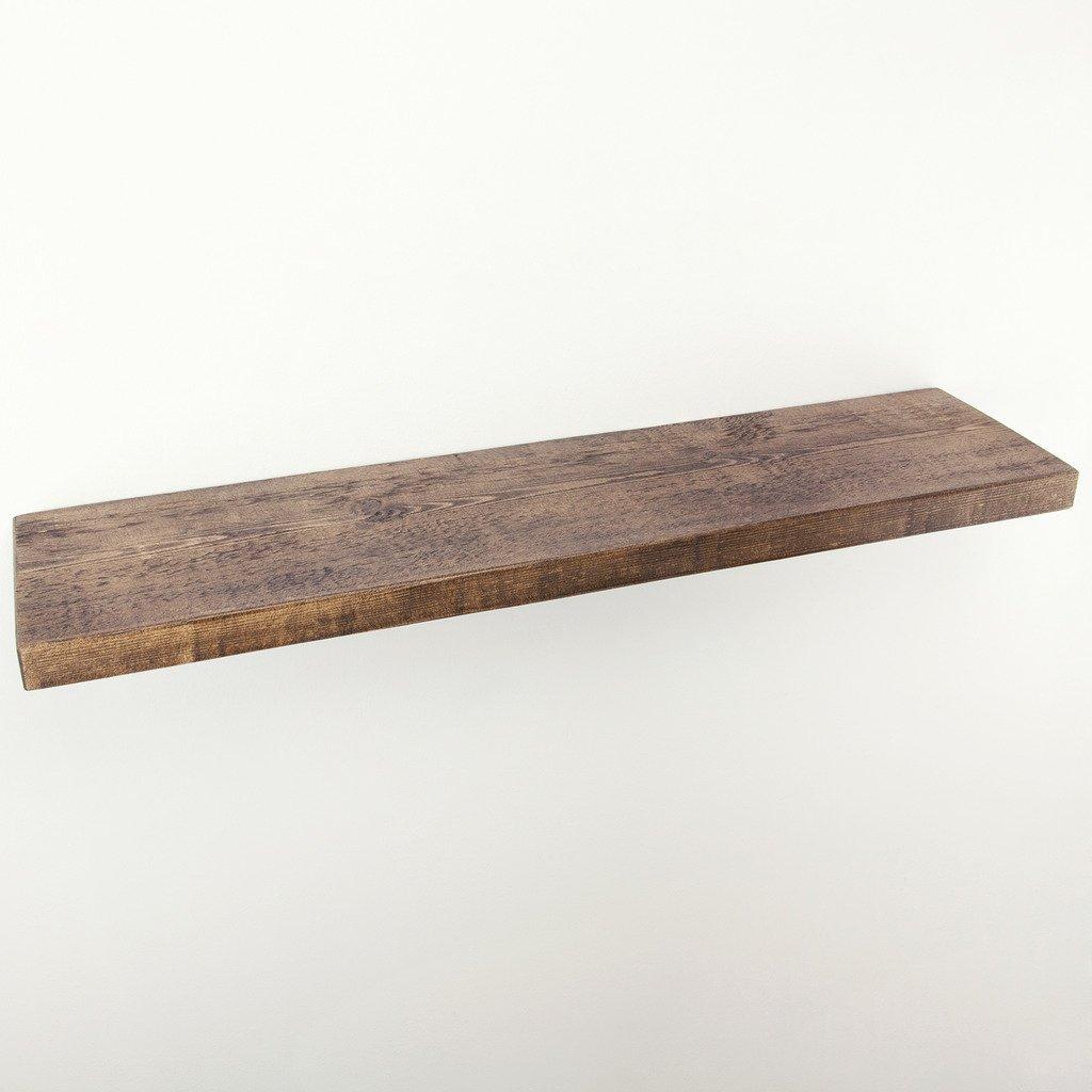 Funky Chunky Furniture 22 5 X 4 Cm Rustique Tag Re Murale Bois  # Etagere En Planche Brute
