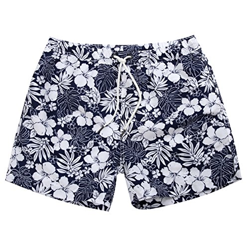 3d427eb3762ca MaaMgic Mens Quick Dry Funny Floral Short Swim Trunks With Mesh Lining -  Buy Online in Oman. | Misc. Products in Oman - See Prices, Reviews and Free  ...