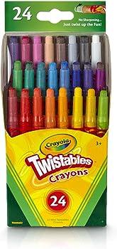 24-Count Crayola Twistables Crayons Coloring Set