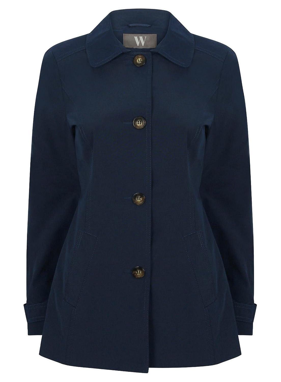 OYSOHE Womens Autumn Winter Jacket Casual Outwear Parka Cardigan Slim Coat Overcoat