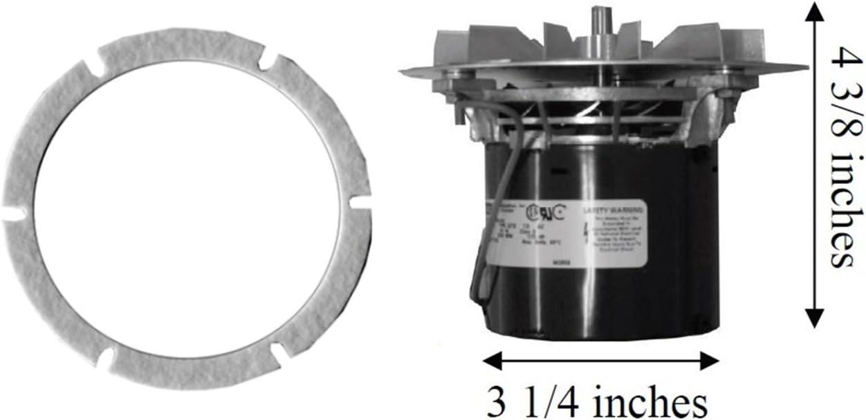 Quadrafire Pellet Exhaust Combustion 812-3381 CB 1200 w// FREE Gasket UPGRADE!