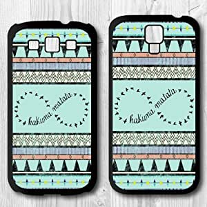 For Samsung Galaxy S4 / S3 Case, Mint Green Pattern Protective Hard Phone Cover Skin Case For Samsung Galaxy S3 + Screen Protector