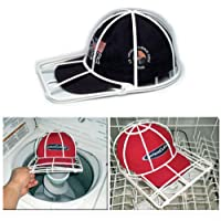 Ballcap Washer Frame-Hat Washing Cage-Clean Your Cap Organizer, Hat Rack Cap Holder entirely in Your Dishwasher Washing Machine